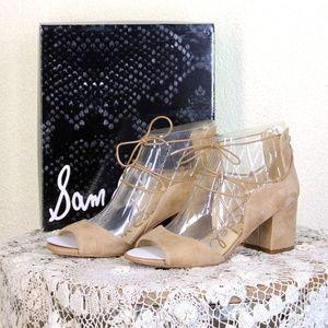 Sam Edelman || Golden Caramel Suede Serene Sandal